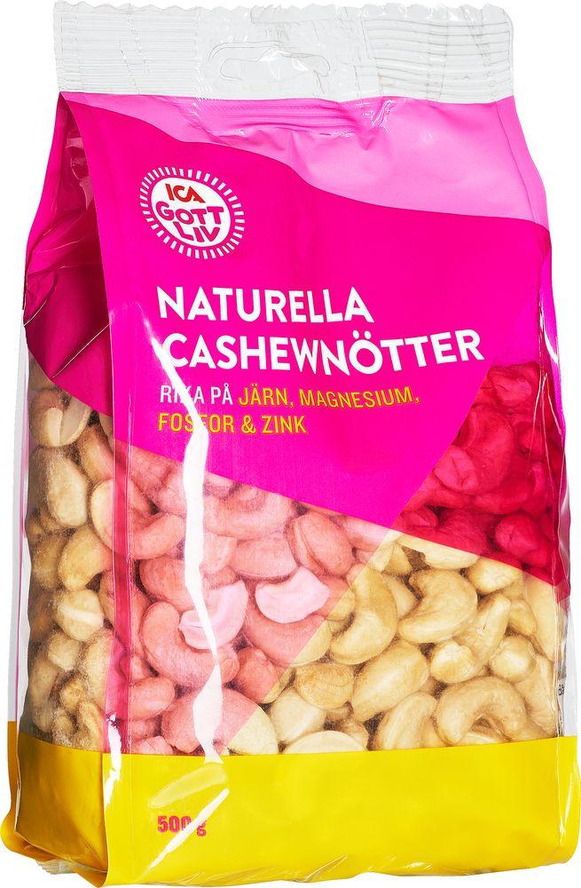 naturella cashewnötter näringsvärde