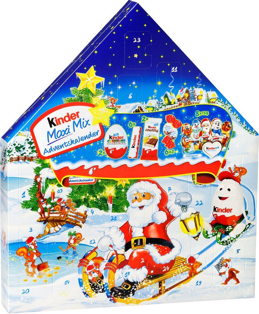 Kinder Maxi Mix Adventskalender Ferrero 351g Jamfor Pris Handla Via Matspar Se