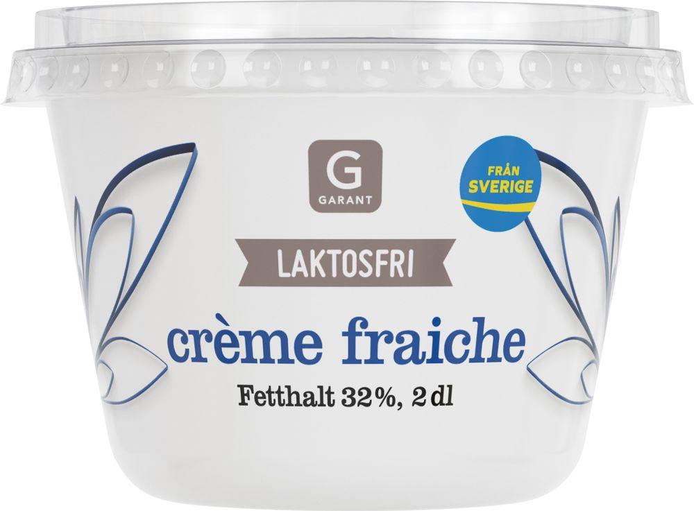 laktosfri creme fraiche kokbar