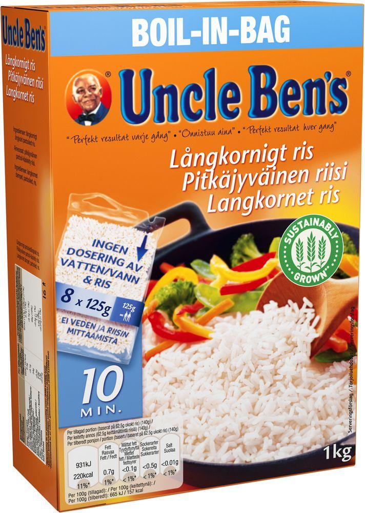 uncle ben ris dosering