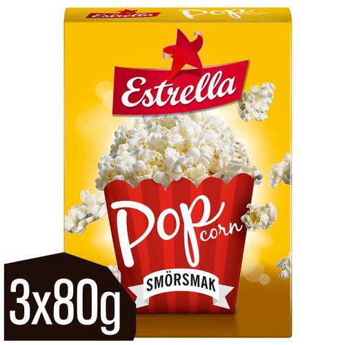 popcorn med smör