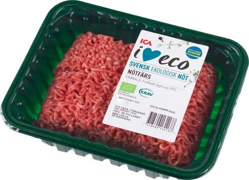 pris köttfärs coop