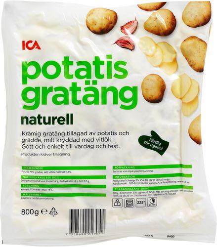 färdig potatisgratäng tillagning